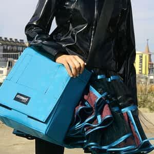 Taschenmodell Record Comfort in himmelblau