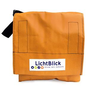Firmentasche für den Energieversorger Lichtblick